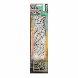 Dylusions - Stamp & Stencil Cobweb Small