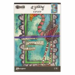 Dylusions Dyalog Framed Cover