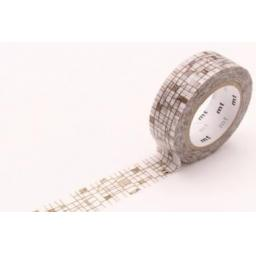 Washi Tape - Line Brown 15mm x 10m
