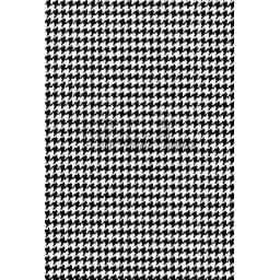 Houndstooth Background (cut out and mounted on cling cushioning)