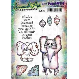 PaperArtsy - Zinski Art Set 37 (A5 set, trimmed, on EZ)