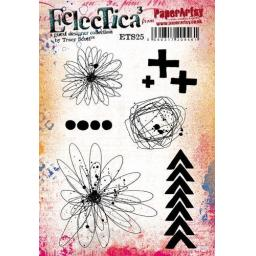 PaperArtsy - E³ Tracy Scott 25 (A5 set, trimmed, on EZ)