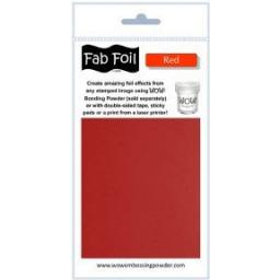 WOW! Fab Foil Red