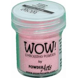 WOW! Embossing Powder Opaque Pastel Pink 15ml