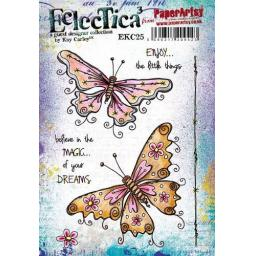 PaperArtsy - E³ Kay Carley 25 (A5 set, trimmed, on EZ)