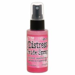 Distress Oxide Spray - Picked Raspberry