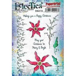 PaperArtsy - E³ Kay Carley 21 (A5 set, trimmed, on EZ)