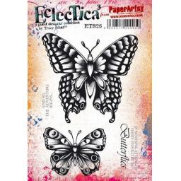 PaperArtsy - E³ Tracy Scott 26 (A5 set, trimmed, on EZ)