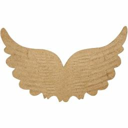 Papier Mache Embossed Wings 13 x 21 cm
