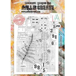 Aall & create Clear A4 stamp #110