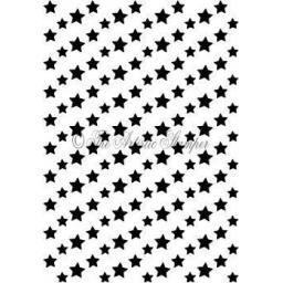 Star Background 2 A6 (cut out and mounted on cling cushioning)