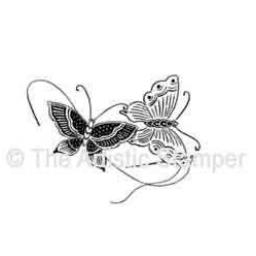 Oriental Butterflies (cut out and mounted on cling cushioning)