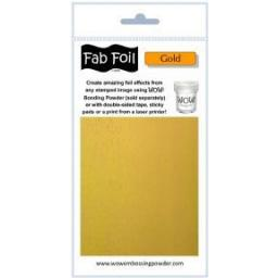 WOW! Fab Foil Gold