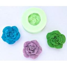 Wow Powders Silicone Mould -Large Rose