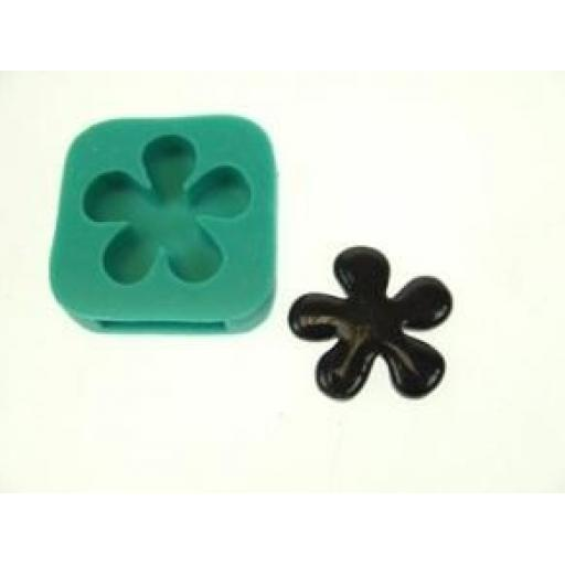 Karantha Silicone Mould- Daisy with finding slits