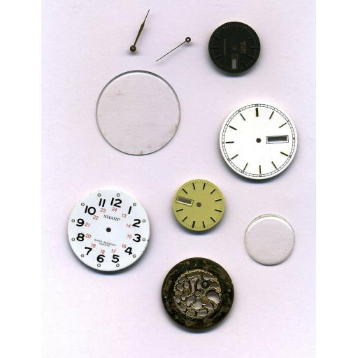 Vintage Watch Pieces (contents will vary)