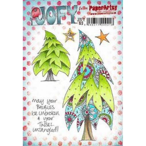 PaperArtsy - JOFY69 (A5 set, trimmed, on EZ)