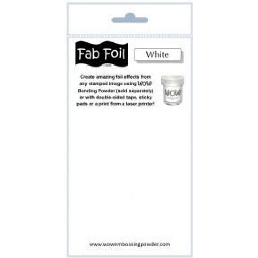 WOW! Fab Foil White
