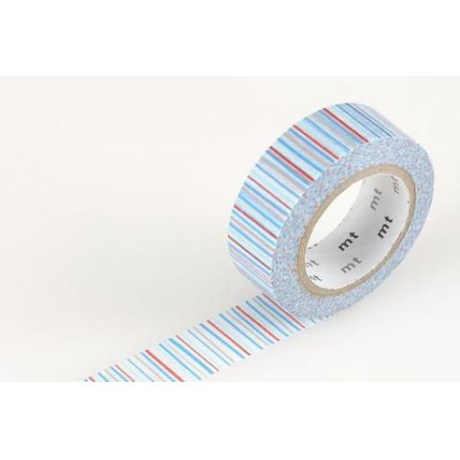 Washi Tape -Shima ao 15mm x 10m