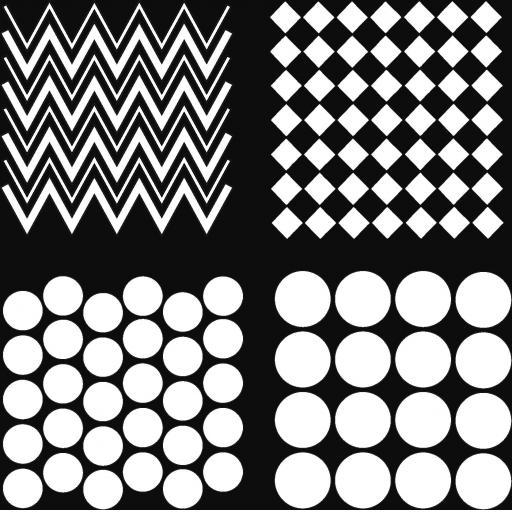 "The Artistic Stamper Sampler 6"" x 6"" Stencil"