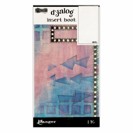 Dylusions Dyalog Dots Insert Book 24 pages