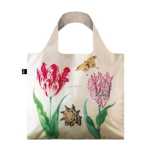 Loqi JACOB MARREL Two Tulips, 1637-45 & IRMA BOOM DNA 03 Bag