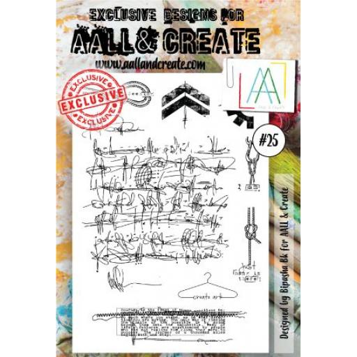 Aall & Create Clear Stamp #25