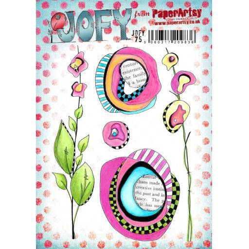 PaperArtsy - JOFY75 (A5 set, trimmed, on EZ)