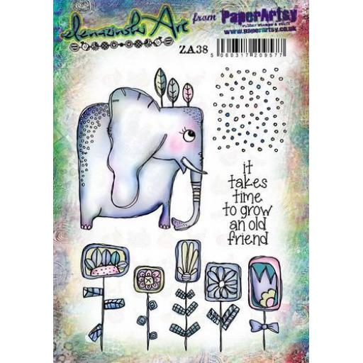 PaperArtsy - Zinski Art Set 38 (A5 set, trimmed, on EZ)
