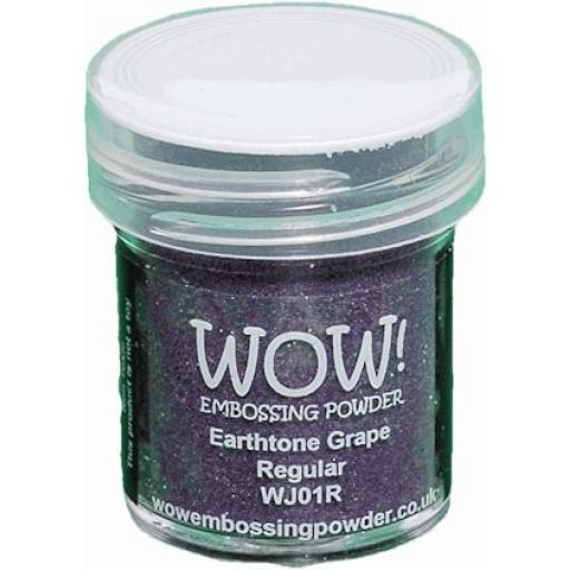 WOW! Embossing Powder Earthtone Grape 15ml