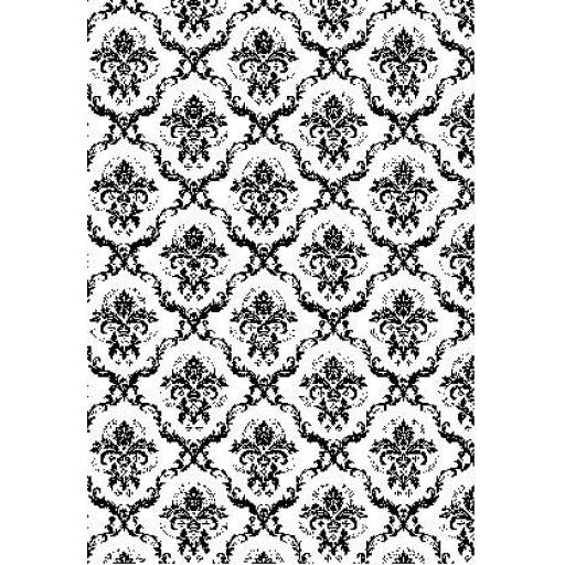 Regency Background size A6 (cut out and mounted on cling cushioning)