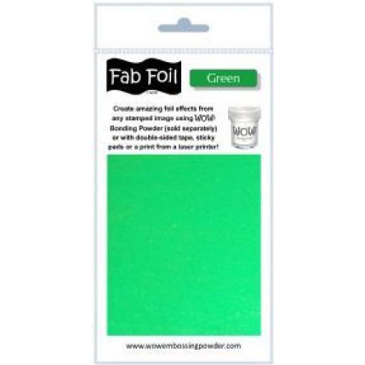 WOW! Fab Foil Green