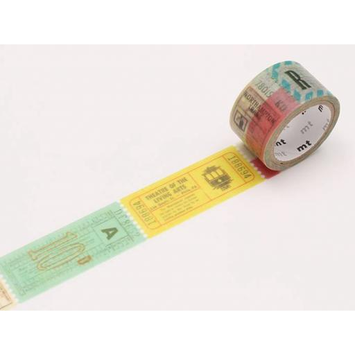 Washi Tape - Fab Ticket