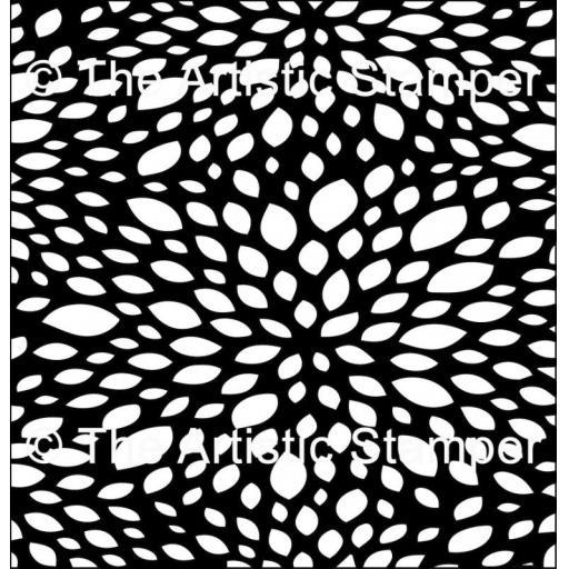 "The Artistic Stamper Petal 6 x 6"""