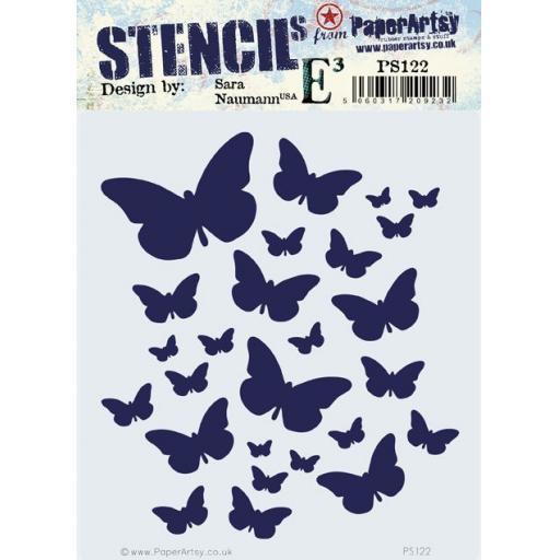 PaperArtsy -PA Stencil 122 {ESN}