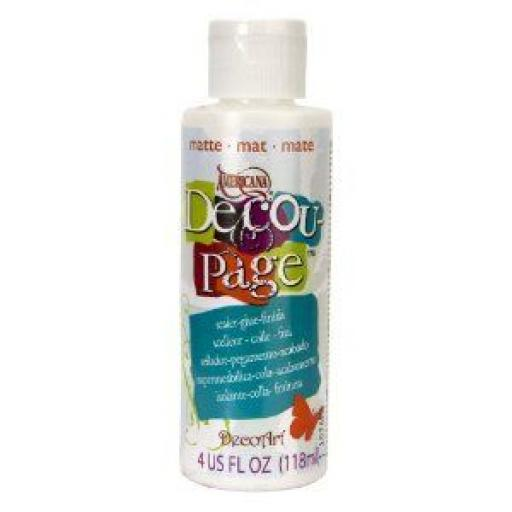 DecoArt Decoupage Sealer/Glue/Matte 4oz