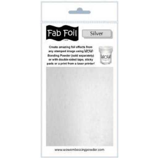 WOW! Fab Foil Silver