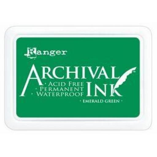 Archival Inkpad - Emerald Green