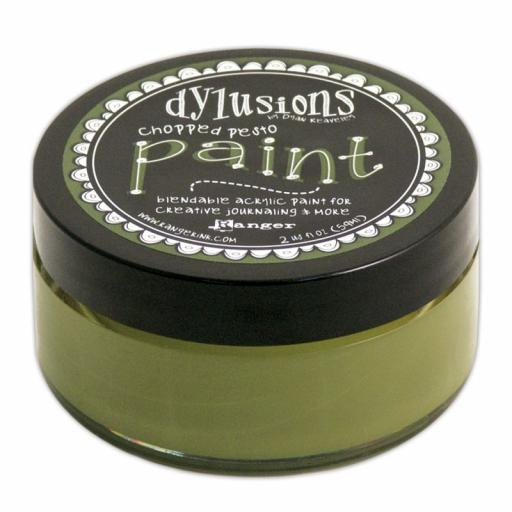 Dylusions Paint - Chopped Pesto