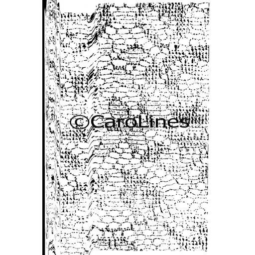 Lace Background C75 © CaroLines (cut out and mounted on cling cushioning)