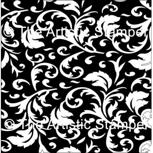 "The Artistic Stamper Swirl 6 x 6"""