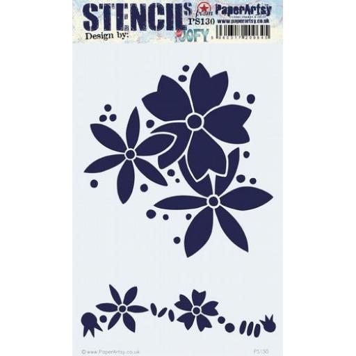 PaperArtsy - PA Stencil 130 Large {JoFY}
