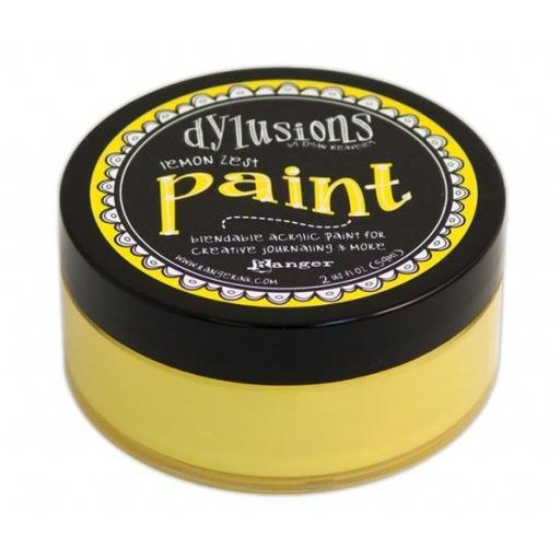 Dylusions Paint - Lemon Zest