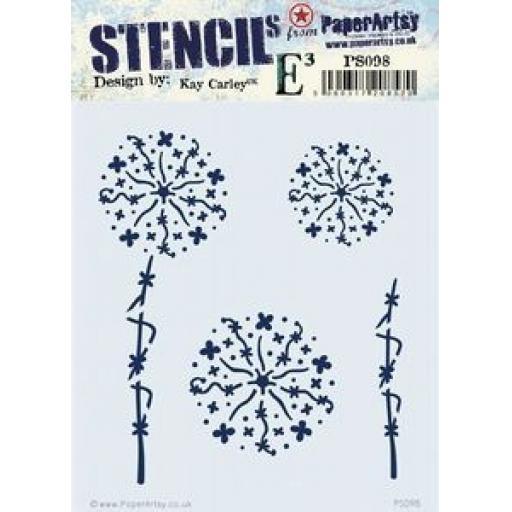 PaperArtsy - PA Stencil 098 {EKC}