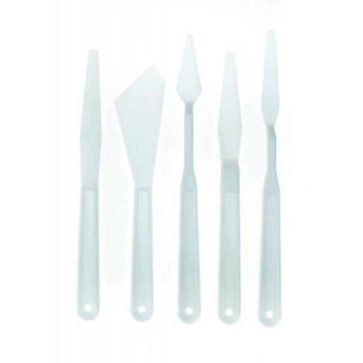 Palette Knives set of 5