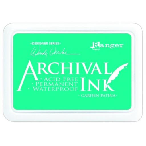 Archival Inkpad by Wendy Vecchi - Garden Patina