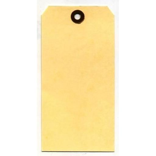 "Pack of 10 Manila Tags #8 6 3/4"" x 3 1/8"""