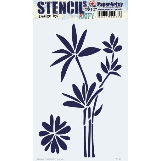 PaperArtsy - PA Stencil 137 Large {JoFY}