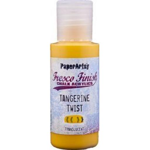 Fresco Finish Paint - Tangerine Twist