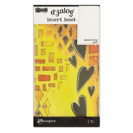 Dylusions Dyalog Handwriting Insert Book 24 Pages